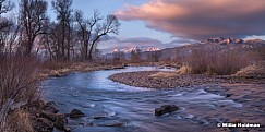 Provo River Sunrise Timp 020418 1562