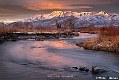Timpanogos Provo River Sunrise 111520 2152 2