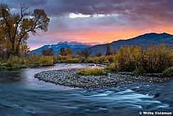 Provo River Sunset 101917 5116F