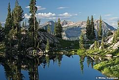 Silver Glance Lake up American Fork Canyon, Utah