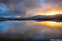 North Fields Sunset Reflection 032117 2 2