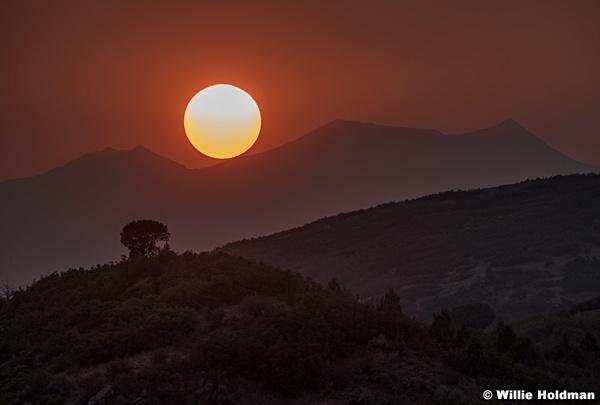 Twin Peak Sunset 082020 2