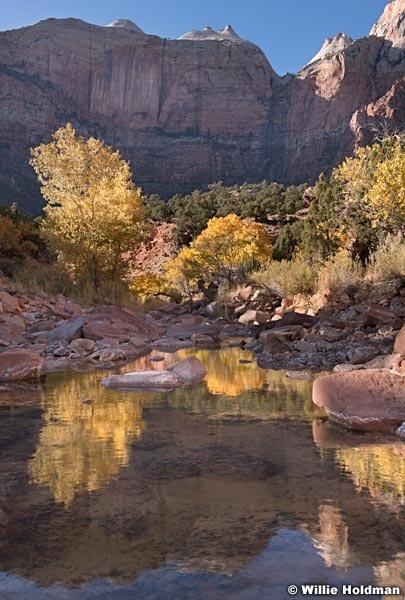Zion Waterpool Reflection 110819 5653 2