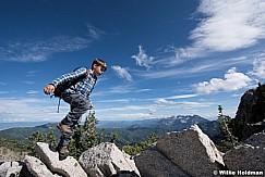 Young Boy Hiking Ridge 070915 6551