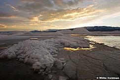 Utah Lake Sunset Ice 021117 4524