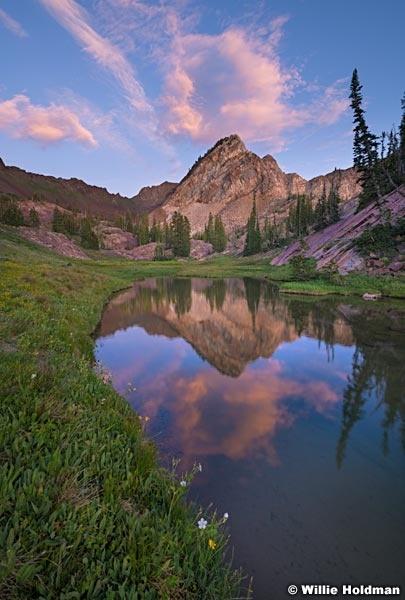 Peak Pond Sunset 082319 4166 3