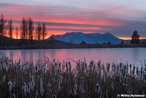 Ice Timpanogos Sunset 111518 3