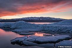 Utah Lake Sunset Ice 021117 4639