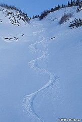Ski Track in Chute 102610 391