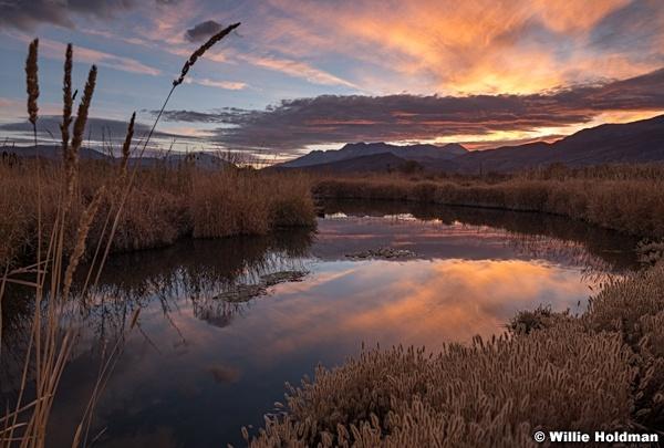 Yellow Provo River Sunset 102420 9040 2