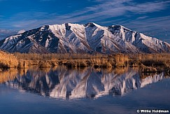 Maple Mountain Reflection 020514