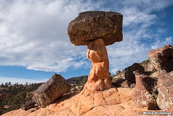 Lone Rock On Pillar 111720 2511 3