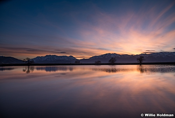 Wasatch Sunset Reflection 033018 8670 2