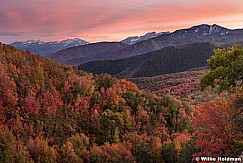 Wasatch Color Sunset 0917
