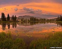 Uinta Lake Sunset 072217